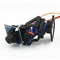 Next 2-Axis FPV Camera Cradle Head + OV7670 Camera Set for Robot / R/C Car - Black + Blue ARD0757
