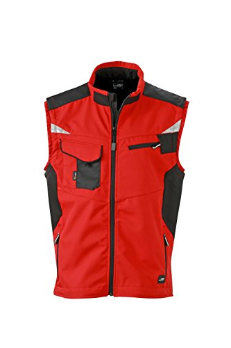 In Di Professionale Dotazione Giubbotto Con Vest Softhell black Qualità nbsp; Red Softshell Workwear fwXHqq5xZ