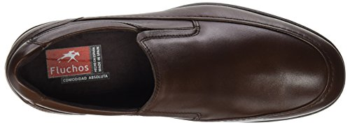 Fluchos ES sin Hombre Marrón Cordones Zapatos Castaño 8499 Castaño Retail Spain Ave wwrf6qA