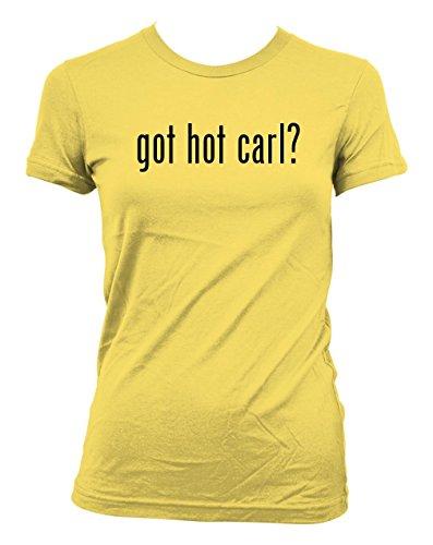 got-hot-carl-american-apparel-juniors-cut-womens-t-shirt-yellow-xx-large