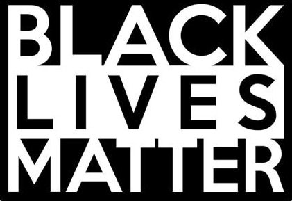 🥇 Black Lives Matter calcomanía de Vinilo Blanco | Coches