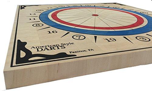 American Style Wood Dartboard