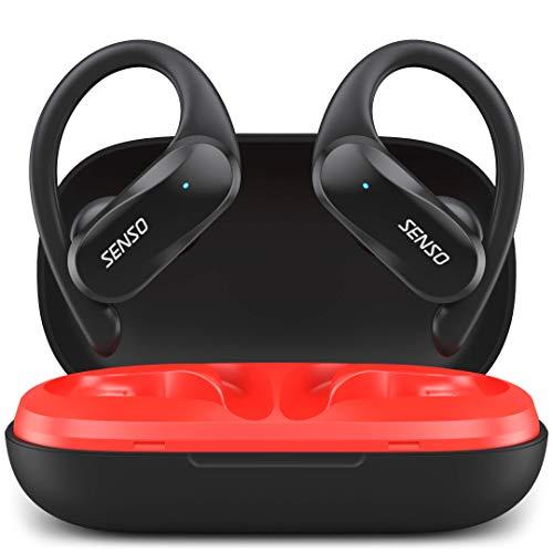 SENSO Wireless Earbuds – Bluetooth True Wireless Earphones – TWS Best Sport Headphones for Workout Noise Cancelling…