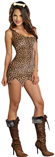 Sexy Kids Costumes (Dreamgirl Women's Cave Girl Costume, Tan, Small)