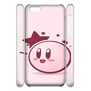 Protective Cases Cover Edghd Kirby For iphone6 Plus 5.5 3D Cell Phone Case White Unique Design Phone Case
