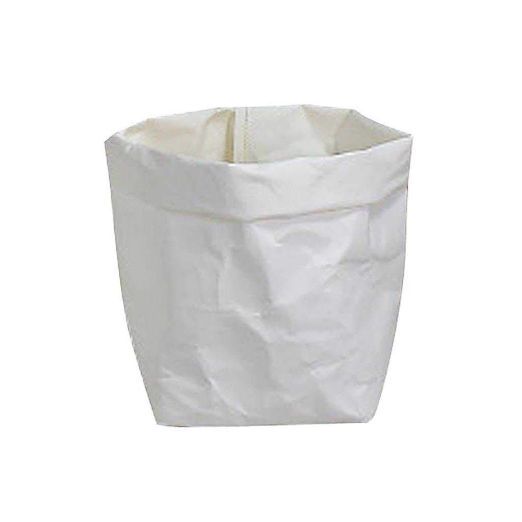 Amazon Com Washable Kraft Paper Bag Plant Flower Pot Storage Bag