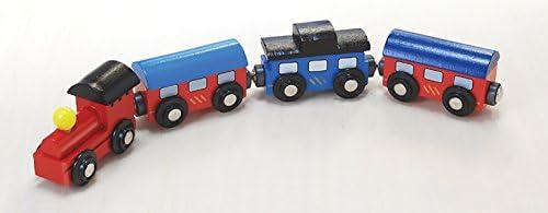 木のおもちゃ・機関車 (木製レール)