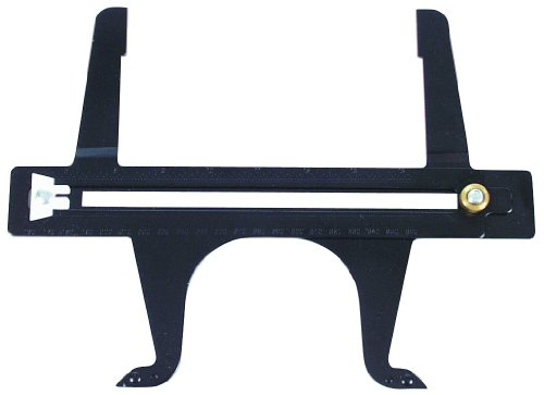 (AMPRO  T71558 Brake Drum Resetting Gauge)