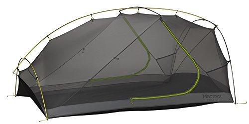 Marmot Force 3P Tent Steel/Green Lime 2016 Kuppelzelt