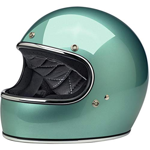 (Biltwell Gringo ECE Rated Helmet Gloss Seafoam Small (More Size and Color Options))
