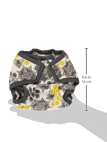 Rumparooz Newborn Cloth Diaper Cover Snap Invader