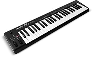 Alesis Q49 | MIDI Keyboard Controller with 49 Velocity Sensitive Keys,  Pitch & Modulation Wheels and Ableton Live Lite Included