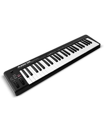 Alesis Q49 - Teclado MIDI USB y controlador con 49 teclas sensibles a la velocidad,