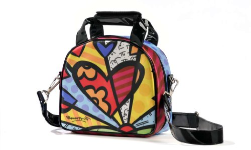Romero Britto Lunch Bag by Romero Britto