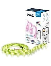 WiZ Colours Smart LED Light Strip 1 Meter Extension Kit Compatible only with WiZ Starter Kit Model WZ26711681 ASIN : B08HQ2KYNM, White, WZ26018081, 1M