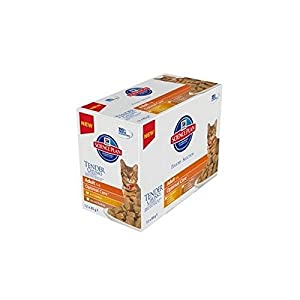 Hill's Science Plan Feline Adult Poultry Selection Multi Pack 12x85g Pouches (1.02kg) (Pack of 4) 60%OFF