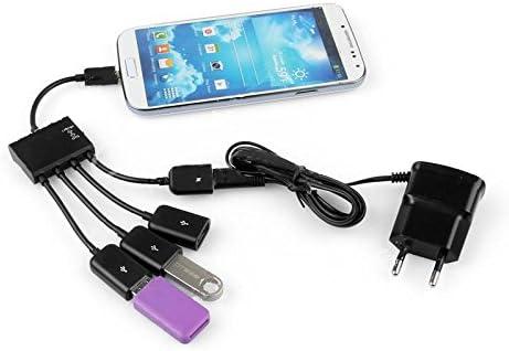 Tenflyer 4 puertos USB Hub carga micro OTG Cable divisor Conector ...