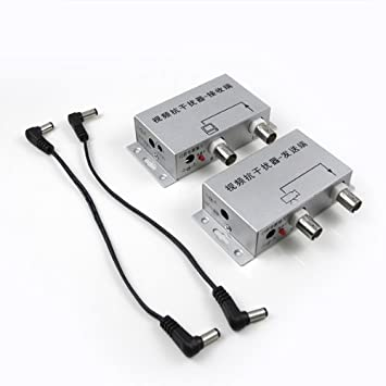 MENGS® Convertidor de Adaptador de Filtro Anti Jamming con receptor/transmisor de vídeo para