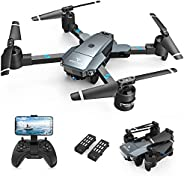 SNAPTAIN A15H Foldable Drone with 1080P HD Camera FPV WiFi RC Quadcopter for Beginners, Optical Flow Positioni