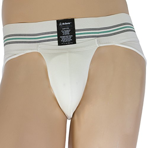 McDavid 318Y Youth Brief Cup Supporter With Cup Youth Large