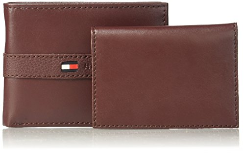 Tommy Hilfiger Men's Ranger Leather Passcase Wallet, Burgundy by Tommy Hilfiger (Image #5)