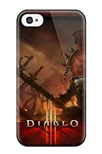 Bareetttt Iphone 4/4s Well-designed Hard Case Cover Awesome Diablo Demon Protector