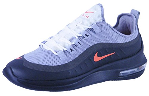 Nike Nike Air Max Axis - Wolf Grau/Crimson-Schwarz, Gr.-44 EU