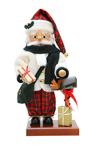 Alexander Taron Christian Ulbricht Decorative Scottish Santa Nutcracker by Alexander Taron