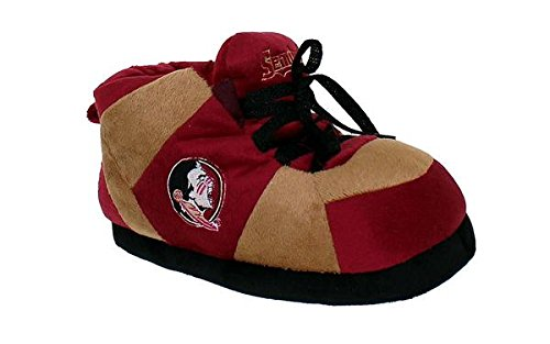 Feet Womens and College Men's LICENSED Florida State NCAA Seminoles Sneaker OFFICIALLY Happy Slippers fBqHx1x