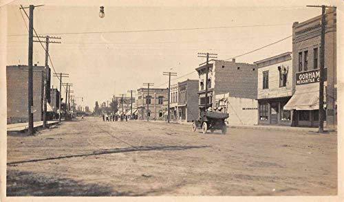 Payette Oregon Main Street Real Photo Vintage Non Postcard Back ()