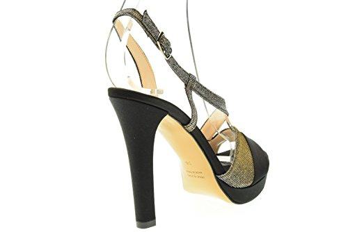 Woman 90pic Love Black Sandal Nero 309 OqddxCTw