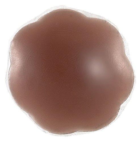 Braza Silicone (Braza Silicone Petal Tops - Reusable Nipple Covers - Cocoa)