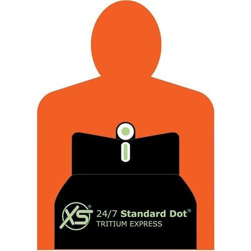 XS Sights 24/7 Standard Dot Tritium Express Sight Set for CZ Rami Pistol, Includes Tritium Front / Rear Sights
