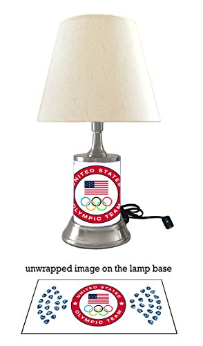 - US Olympic Team Logo Lamp with Shade