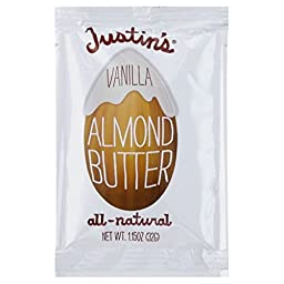 Justins Nut Butter Vanilla Almond