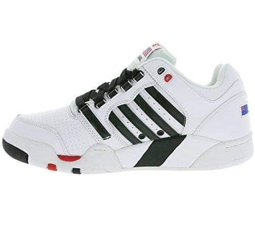 K-SWISS SI-18 International Sneaker Men in pelle bianca 03368-169-M
