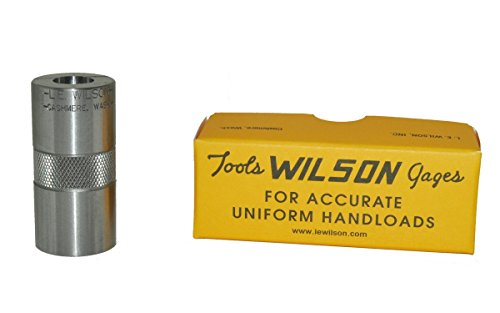 L.E. Wilson CG-22H0R Hornet Case Gage, Polished Steel