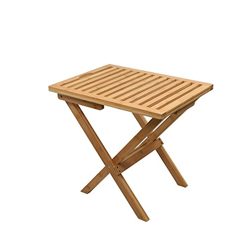 Proman Products Mirage Deluxe Bamboo Luggage Rack, Natural.
