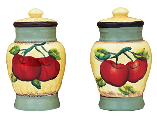 Salt & Pepper Set of 2, Apple on Branch, 85328 by ACK ()