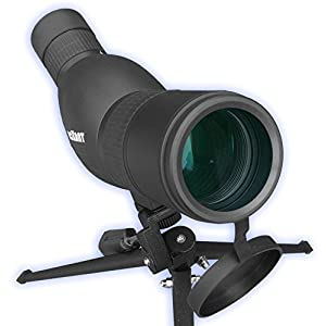 Authentic ROXANT Blackbird High Definition Spotting Scope With ZOOM - Fully Multi Coated Optical Glass Lens + BAK4 Prism. Includes Tripod + Case + Lifetime Support