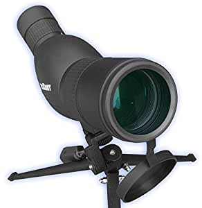 Roxant Authentic Blackbird High Definition Spotting Scope With ZOOM - Fully Multi Coated Optical Glass Lens + BAK4 Prism. Includes Tripod + Case + Lifetime Support