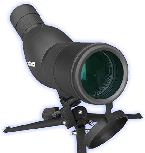 Authentic ROXANT Blackbird - High Definition Spotting Scope With ZOOM, Fully Multi Coated Optical Glass Lens + BAK4 Prism. Includes Tripod + Case + Lifetime Support