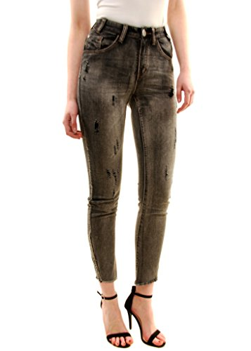 One Jeans Grigio Nero Teaspoon Scallywags Donna Heart pv6apxqr