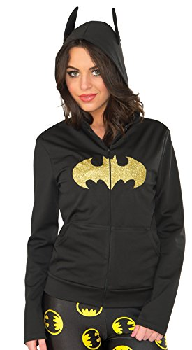 Batman Costumes For Women (Rubie's Women's Hoodie, Batgirl, Small/Medium)