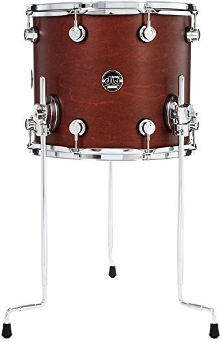 DW Performance Series Floor Tom - 12x14 - Tobacco Satin (12 X 14 Floor Tom)