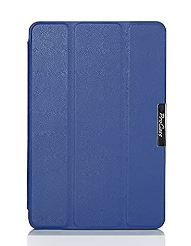 ProCase SlimSnug Case for New Fire HD 7 Tablet (2014 Release, 4th Generation), Slim and light, Hard Shell Cover, with Stand, Exclusive for 2014 Fire HD 7 Tablet (Navy (Kindle Fire 7 2014 Charger)