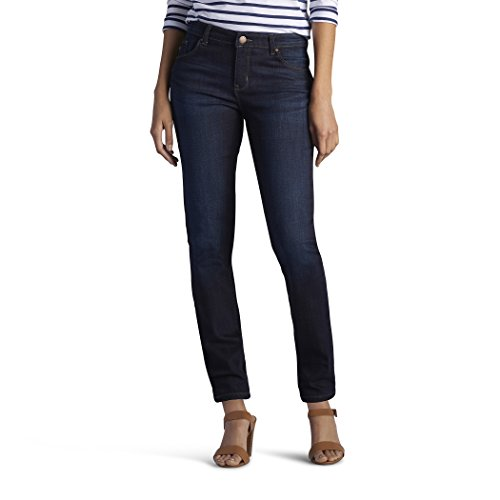 LEE 35247 Women's Modern Series Dream Jean - Faith Skinny, Niagra - 14 Short