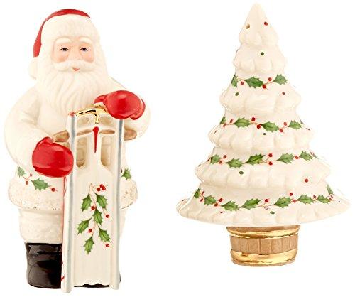Lenox Holiday Santa Salt and Pepper Shakers