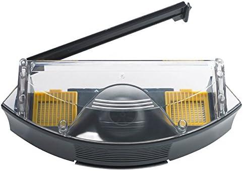 ASP ROBOT Depósito filtros HEPA AEROVAC 2 para Roomba 760 Serie 700. Recambio ORIGINAL cajón caja de residuos repuesto compatible para aspirador irobot Rumba Serie 7 ALTA CALIDAD: Amazon.es: Hogar