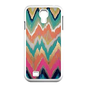 Chevron Stripes Unique Design Cover Case for SamSung Galaxy S4 I9500,custom case cover ygtg623541